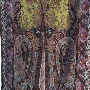 Etro cashmere/silk scarf